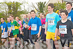 Starting the 3km school fun run in Currow last week the finale to the school's active week.