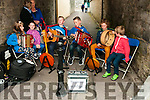 Fleadh Na Mumhan:  Performing on the street on Friday nigh last during Fleadh Cheoil na Mumhan in Listowel were triona B. Kennedy, Megan Kennelly, Darragh & Conor Breen, Mike Fealey & Thomas Breen