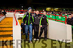 Ciaran Carey  Kerry manager in consolidation with his backroom team at half time against  Limerick during their Munster cup clash  in the Gaelic Grounds on Sunday