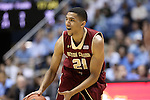 18 January 2014: Boston College's Olivier Hanlan. The University of North Carolina Tar Heels played the Boston College Eagles in an NCAA Division I Men's basketball game at the Dean E. Smith Center in Chapel Hill, North Carolina. UNC won the game 82-71.