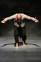 "Akram Khan Company presents ""Chotto Desh"", at the Edinburgh International Conference Centre, as part of the Edinburgh International Festival. The dancer is Dennis Alamanos."