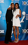LOS ANGELES, CA. - February 12: Actors Tyler James Williams and Keke Palmer pose in the press room for the 40th NAACP Image Awards at the Shrine Auditorium on February 12, 2009 in Los Angeles, California.