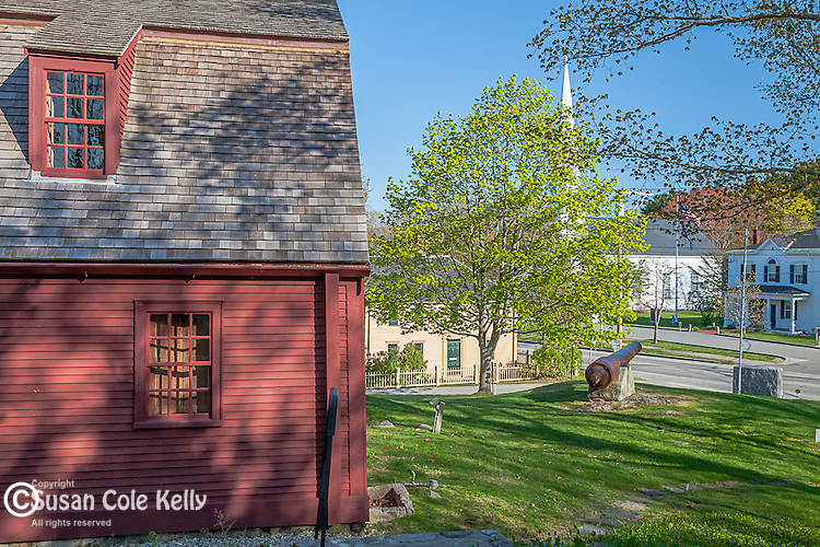 The Old Gaol in York Village, Maine, USA