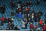Sheffield United fans before the start of the championship match at The Den Stadium, Millwall. Picture date 2nd December 2017. Picture credit should read: Robin Parker/Sportimage