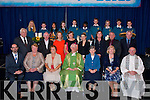 Bishop of Kerry,Ray Browne celebrated mass last Tuesday morning assisted by Fr Patsy Lynch at the sports hall of the Mercy Mounthawk secondary<br /> school,Tralee for the students&amp;board of management, (seated)L-R Sean O'Rourke(Principal)Sr Nora Flynn,Sr Maureen O'Sullivan,Bishop of Kerry,Ray Browne,Sr Joan Curtin,Sr Bernadette Costello and Fr Patsy Lynch(back)L-R Denis Cregan,Richard O'Halloran(board members,Amalee Meehan,CEIST(Catholic Education Irish School Trust)Margot O'Connell(Chair person,board of management)Elaine Costelloe,Rose Daly,Sean Lyons&amp;Michael Maher