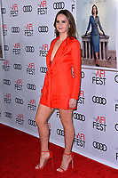 "LOS ANGELES, CA. November 08, 2018: Felicity Jones at the AFI Fest 2018 world premiere of ""On the Basis of Sex"" at the TCL Chinese Theatre.<br /> Picture: Paul Smith/Featureflash"