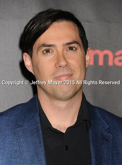 LAS VEGAS, CA - APRIL 21: Director Brad Peyton arrives at Warner Bros. Pictures Invites You to ?The Big Picture at The Colosseum at Caesars Palace during CinemaCon, the official convention of the National Association of Theatre Owners, on April 21, 2015 in Las Vegas, Nevada.