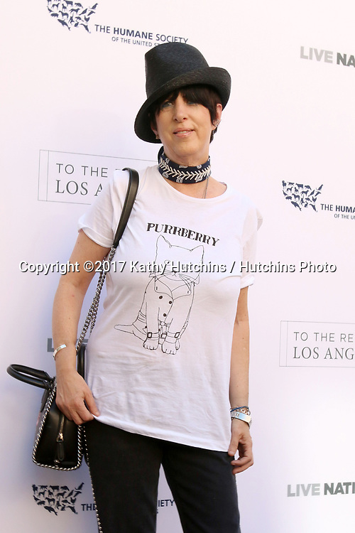 LOS ANGELES - APR 22:  Diane Warren at the 2017 The Humane Society Gala at Parmount Studios on April 22, 2017 in Los Angeles, CA