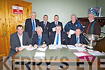 AGM: Officers of the North Kerry Hurling Board, held their AGM on Thursday night in the Abbeydorney Complex. Front l-r: Joe Walsh (hurling officer), Tom Lawlor (vice chairman),Joe Walsh (chairman) and Paudie Dineen (NKHB secretary). Back l-r: James O'Connor (treasurer), Mikey Healy (vice-chairman), Paudie Dineen (treasurer), Ger Hanafin (fixture secretary) and John Culloty (cuteral officer NKHB).....