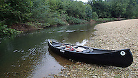 NWA Democrat-Gazette/FLIP PUTTHOFF <br /> The War Eagle River is a gentle and scenic canoeing stream that also offers good fishing. Smallmouth bass and sunfish were eager to bite during a float trip on Sept. 25 2015.