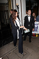 LONDON, ENGLAND - SEPTEMBER 10 :  Lisa Snowdon leaves the TV Choice Awards 2018, at The Dorchester hotel, on September 10, 2018 in London, England.<br /> CAP/AH<br /> &copy;AH/Capital Pictures
