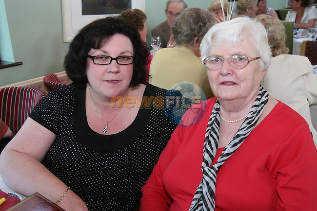 Brenda Walker and Bernadette Byrne at the Dunleer Bridge Club 21st Anniversary in Donegans...Photo NEWSFILE/Jenny Matthews.(Photo credit should read Jenny Matthews/NEWSFILE)....This Picture has been sent you under the condtions enclosed by:.Newsfile Ltd..The Studio,.Millmount Abbey,.Drogheda,.Co Meath..Ireland..Tel: +353(0)41-9871240.Fax: +353(0)41-9871260.GSM: +353(0)86-2500958.email: pictures@newsfile.ie.www.newsfile.ie.FTP: 193.120.102.198.