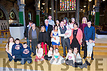 Parents Jason and Breda Coffey, Tralee celebrate the christening of baby Kayla at St. John's Church by Fr. Bernard Healy on Saturday with family and friends