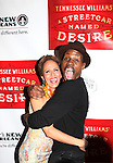 Nicole Ari Parker & Wood Harris.attending the Broadway Opening Night After Party for 'A Streetcar Named Desire' on 4/22/2012 at the Copacabana in New York City.