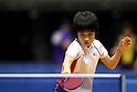 Miu Hirano, JANUARY 20, 2011 - Table Tennis : All Japan Table Tennis Championships, Women's Singles 3rd Round at Tokyo Metropolitan Gymnasium, Tokyo, Japan. (Photo by Daiju Kitamura/AFLO SPORT) [1045]..