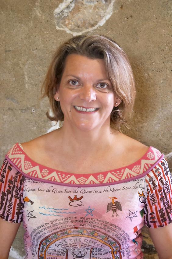 Véronique Boudau Domaine Boudau, Rivesaltes. Roussillon. Owner winemaker. France. Europe.