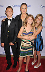 BEVERLY HILLS, CA - SEPTEMBER 28: Jennifer Salke and children attend Operation Smile's 30th Anniversary Smile Gala - Arrivals at The Beverly Hilton Hotel on September 28, 2012 in Beverly Hills, California.