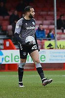 Zeus de la Paz of Oldham Athletic during Crawley Town vs Oldham Athletic, Sky Bet EFL League 2 Football at Broadfield Stadium on 7th March 2020