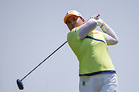 Ariya Jutanugarn (THA) watches her tee shot on 8 during round 1 of the 2019 US Women's Open, Charleston Country Club, Charleston, South Carolina,  USA. 5/30/2019.<br /> Picture: Golffile | Ken Murray<br /> <br /> All photo usage must carry mandatory copyright credit (© Golffile | Ken Murray)