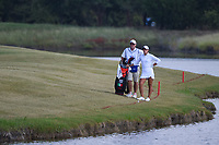 Maria Fassi (MEX) looks over her approach shot after taking a drop on her drive on 18 during the round 3 of the Volunteers of America Texas Classic, the Old American Golf Club, The Colony, Texas, USA. 10/5/2019.<br /> Picture: Golffile   Ken Murray<br /> <br /> <br /> All photo usage must carry mandatory copyright credit (© Golffile   Ken Murray)