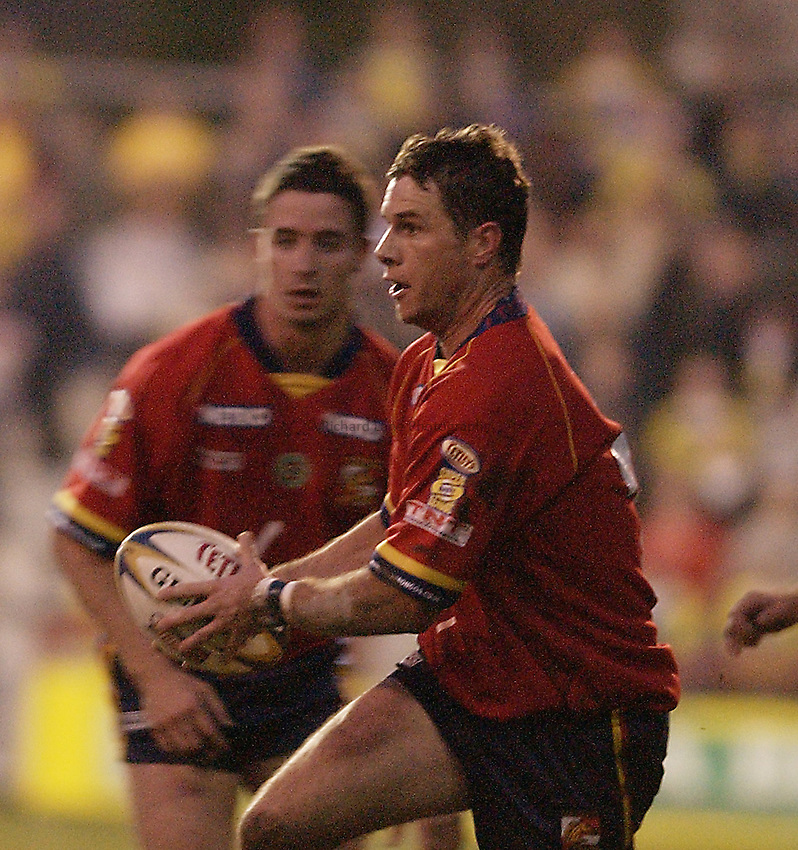 Picture: Henry Browne.Date: 22/03/2003.London Broncos v Warrington Rugby League.Andrew King of London