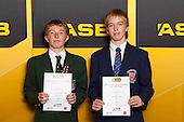 Boys Squash finalists Sion Wiggin and Henry Pyc. ASB College Sport Young Sportsperson of the Year Awards held at Eden Park, Auckland, on November 24th 2011.