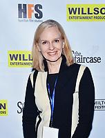 09 November 2019 - Hamilton, Ontario, Canada.  Actress Catherine Dyer at the 14th annual Hamilton Film Festival at the Playhouse Cinema. Photo Credit: Brent Perniac/AdMedia