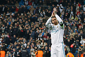 6th December 2017, Santiago Bernabeu, Madrid, Spain; UEFA Champions League football, Real Madrid versus Dortmund; Sergio Ramos Garcia (4) Real Madrid