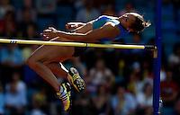 Photo: Richard Lane/Richard Lane Photography..Aviva World Trials & UK Championships athletics. 12/07/2009. Jessica Ennis in the women's high jump.