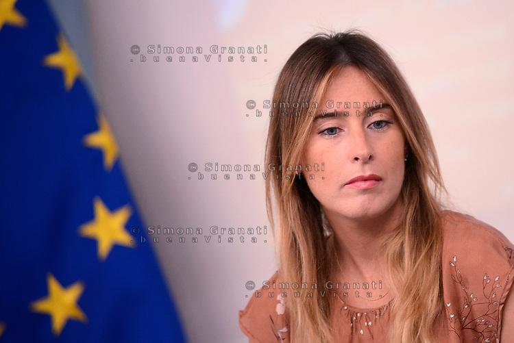 Roma,18 Luglio 2017<br /> Maria Elena Boschi<br /> &ldquo;Edilizia Scolastica 2014- 2018&quot;: conferenza stampa a Palazzo Chigi