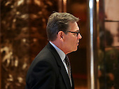Former Governor Rick Perry (Republican of Texas) leaves after meeting with United States President-elect Donald Trump, November 21, 2016, at the Trump Tower in New York, New York.<br /> Credit: Aude Guerrucci / Pool via CNP