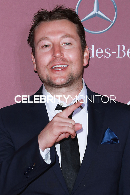PALM SPRINGS, CA, USA - JANUARY 03: Leigh Whannell arrives at the 26th Annual Palm Springs International Film Festival Awards Gala Presented By Cartier held at the Palm Springs Convention Center on January 3, 2015 in Palm Springs, California, United States. (Photo by David Acosta/Celebrity Monitor)