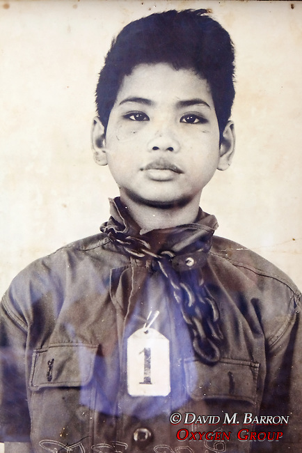 Young Boy Victim, Tuol Sleng Genocide Museum