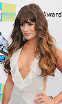 SANTA MONICA, CA - AUGUST 19: Lea Michele arrives at the 2012 Do Something Awards at Barker Hangar on August 19, 2012 in Santa Monica, California. /NortePhoto.com....**CREDITO*OBLIGATORIO** ..*No*Venta*A*Terceros*..*No*Sale*So*third*..*** No Se Permite Hacer Archivo**