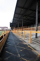 General view of Barnet FC Football Ground, Underhill Stadium, Barnet, London, pictured on 10th February 1996