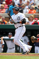 Detroit Tigers Miguel Cabrera #24 during a spring training game vs. the Boston Red Sox at Joker Marchant Stadium in Lakeland, Florida;  March 15, 2011.  Boston defeated Detroit 2-1.  Photo By Mike Janes/Four Seam Images