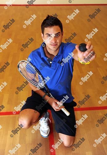 11-11-30 / Squash / seizoen 2011-2012 / Sam van Brusselen..Foto: Mpics