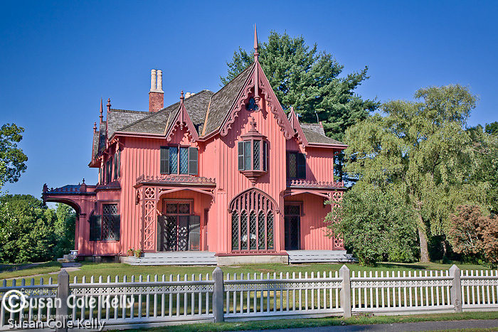 The Bowen House / Roseland Cottage, Woodstock, CT