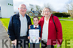 Scoil Eoin Balloonagh held a mass for parents and grandparents on Thursday. Pictured Sean Lynch, Eileen Lynch with Deirdre Quigley