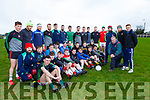 Willie Maher with his selectors Shane O'Sullivan, Kieran Fleming, and Daniel O'Leary and their Kilcummin sqaud