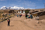 The Ausengate hiking circuit passes through the small mountain village of Pinchimuro.
