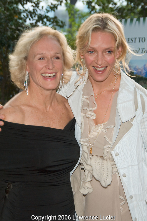 Glenn Close and Uma Thurman