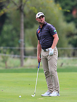 Ales Korinek (CZE) on the 1st fairway during Round 1 of the D+D Real Czech Masters at the Albatross Golf Resort, Prague, Czech Rep. 31/08/2017<br /> Picture: Golffile | Thos Caffrey<br /> <br /> <br /> All photo usage must carry mandatory copyright credit     (&copy; Golffile | Thos Caffrey)