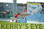 West Kerry in action against  Legion in the Quarter Final of the Kerry Senior County Championship at Austin Stack Park on Sunday.