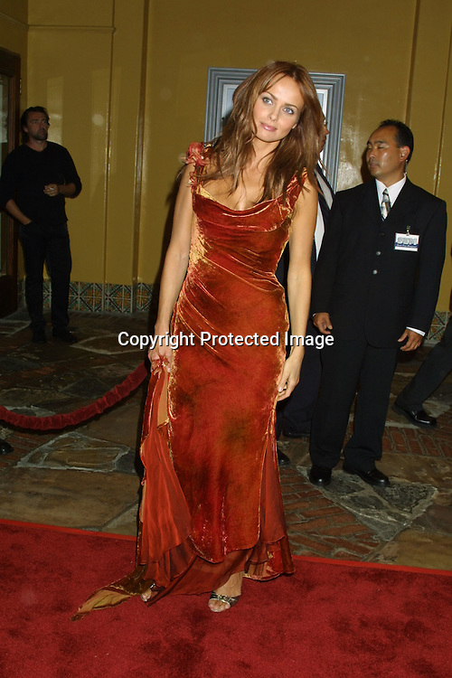 "©2002 KATHY HUTCHINS/ HUTCHINS PHOTO.PREMIERE OF ""REIGN OF FIRE"" .WESTWOOD, CA  - 7/9/02.IZABELLA SCORUPCO"