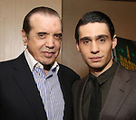 Chazz Palminteri and Bobby Conte Thornton attends the Broadway Opening Night After Party for 'A Bronx Tale' at The Marriot Marquis Hotel on December 1, 2016 in New York City.