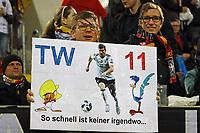 Fan von Timo Werner (Deutschland, Germany) - 23.03.2018: Deutschland vs. Spanien, Esprit Arena Düsseldorf