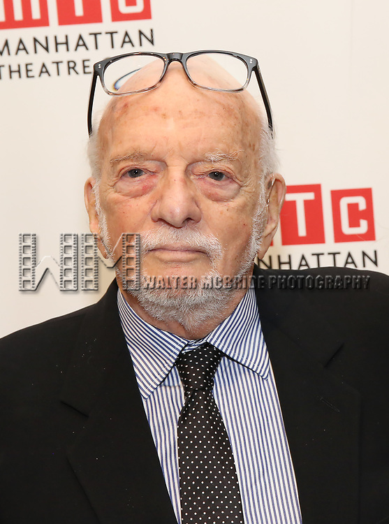 Hal Prince attends the 2017 Manhattan Theatre Club Fall Benefit honoring Hal Prince on October 23, 2017 at 583 Park Avenue in New York City.