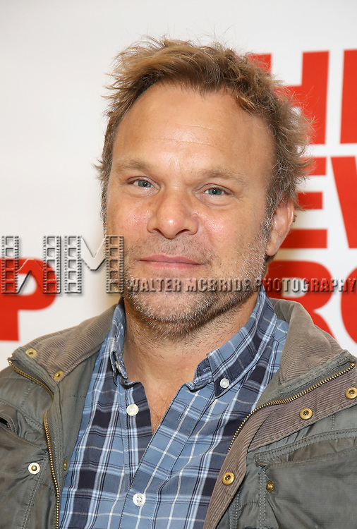 Norbert Leo Butz attends the photo call for The New Group's World Premiere of Hamish Linklater's 'The Whirligig'  at the New 42nd Street Studios on April 3, 2017 in New York City.