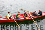 The Valentia crew winners of the U16 Boys race at the Cahersiveen Regatta on Sunday pictured l-r; Sean Daly, Michael Keating, Fionn O'Connell, Eamon Healy & Cox Dermot Walsh, Cromane finished second followed in third by Callinafercy.